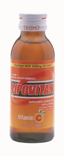 Lipovitan Energy Drink with Vitamin C Perspective: front