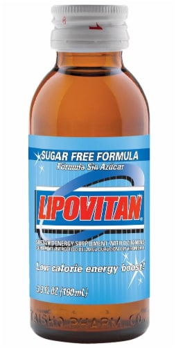 Lipovitan Sugar-Free Energy Drink Perspective: front
