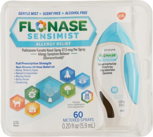 Flonase Sensimist Allergy Relief Spray Perspective: front