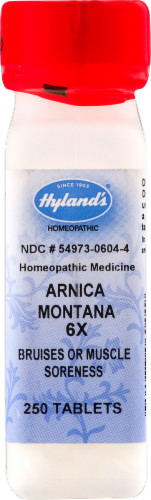 Hyland's Arnica Montana 6x Bruises or Muscle Soreness Perspective: front