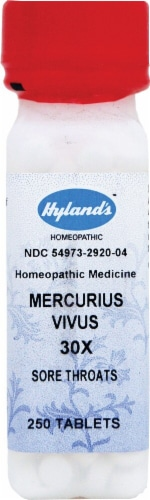 Hyland's  Mercurius Vivus   30x Perspective: front