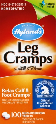 Hyland's Homeopathic Leg Cramps Relief Tablets Perspective: front