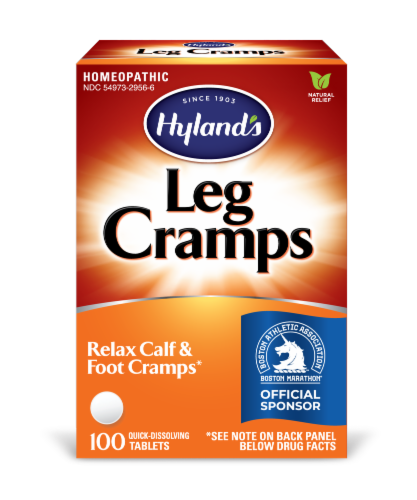 Hyland's Leg Cramp Tablets Perspective: front
