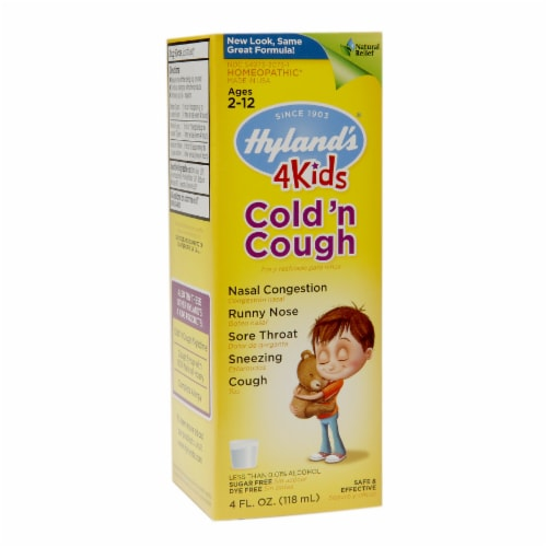 Hyland's 4 Kids Cold 'n Cough Perspective: front
