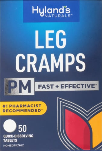 Hyland's Homeopathic Leg Cramps PM Tablets Perspective: front
