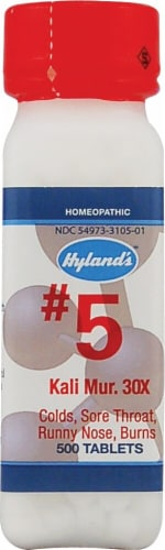 Hyland's  No.5 Kali Mur. 30x Perspective: front