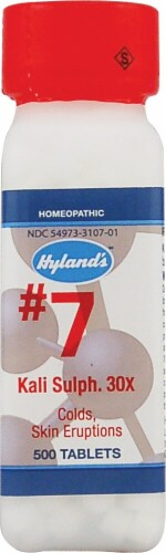 Hyland's  No.7 Kali Sulph. 30x Perspective: front