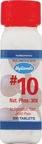 Hyland's  No 10 Nat Phos 30x Perspective: front