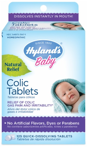 Hyland's Baby Colic Tablets Perspective: front
