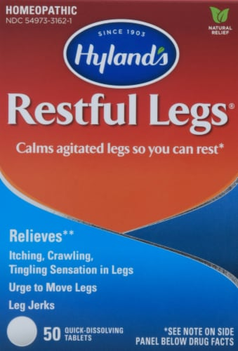 Hyland's Restful Legs Tablets Perspective: front