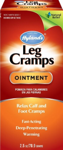 Hyland's Homeopathic Leg Cramp Ointment Perspective: front