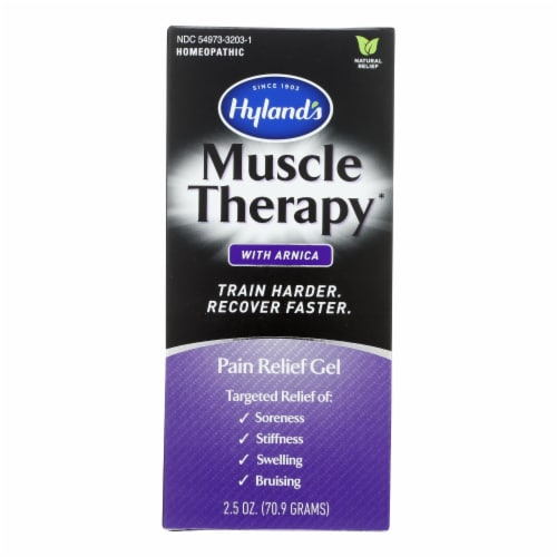 Hylands Homeopathic - Muscle Thrpy Gel W/arnica - 1 Each - 2.5 OZ Perspective: front