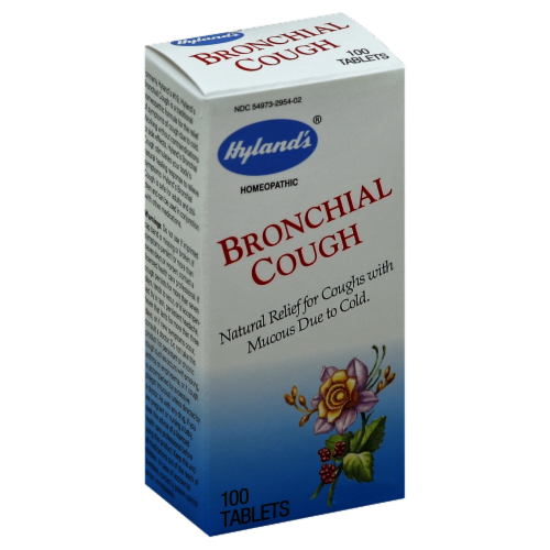 Hyland's Homeopathic Bronchial Cough Perspective: front