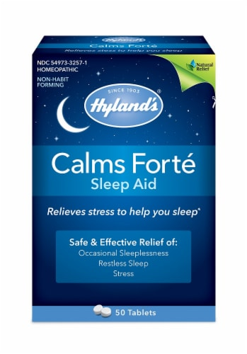 Hyland's Calms Forté Tablets Perspective: front