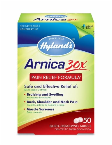 Hyland's Arnica 30x Pain Relief Formula Perspective: front