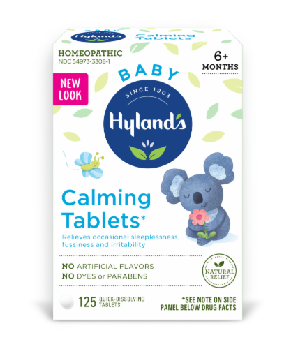 Hyland's Baby Calming Quick Dissolving Tablets Perspective: front