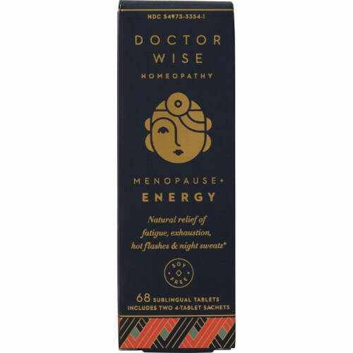Doctor Wise Homeopathy Menopause + Energy Perspective: front