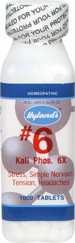 Hyland's  Kali Phos. 6X Perspective: front