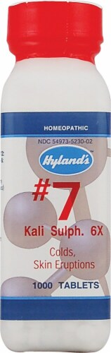 Hyland's  No 7 Kali Sulph 6x Perspective: front