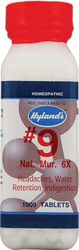 Hyland's  N0.9 Natrum Muriaticum 6x Perspective: front