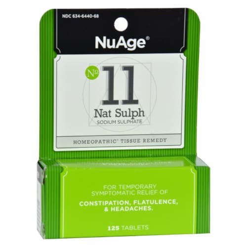 Hyland's  NuAge™ No 11 Natrum Sulph Perspective: front