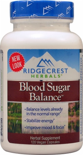 RidgeCrest Herbals  Blood Sugar Balance™ Perspective: front