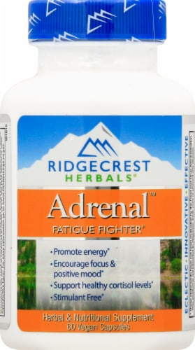 RidgeCrest Herbals  Adrenal™ Fatigue Fighter Perspective: front