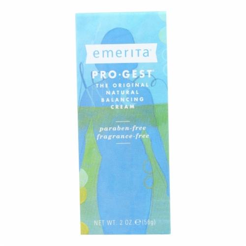 Emerita Pro-Gest Progesterone Cream Perspective: front