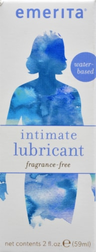 Emerita Intimate Natural Lubricant Perspective: front