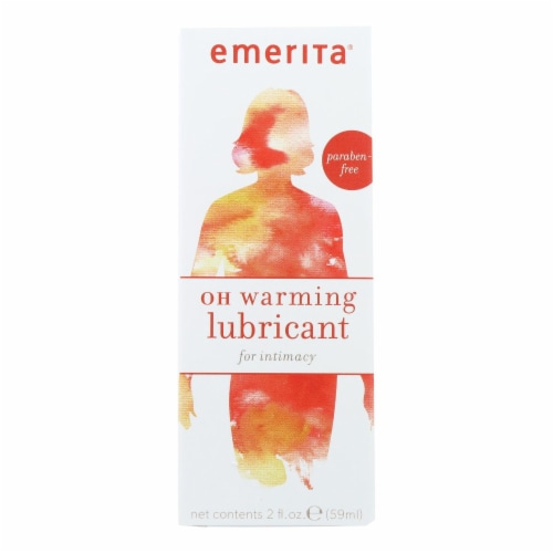 Emerita OH Warming Lubricant - 2 oz Perspective: front