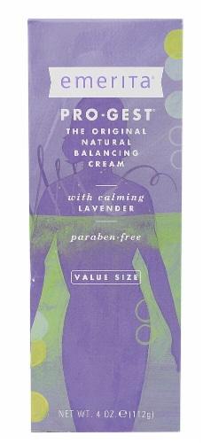 Emerita  Pro-Gest Lavender Paraben Free Perspective: front
