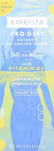 Emerita Pro-Gest Vitamin D3 Balance Cream Perspective: front
