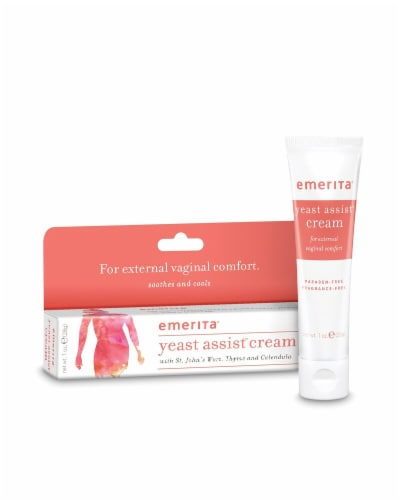 Emerita Yeast Assist Cream Perspective: front