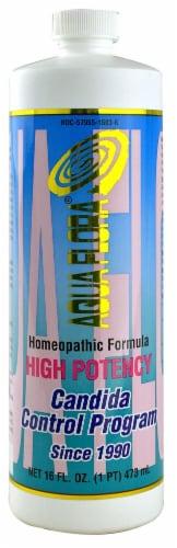 Aqua Flora  High Potency Candida Control Program Perspective: front