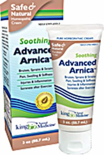 Dr. King's Natural Medicine  Advanced Arnica Pain Relief Topical Perspective: front