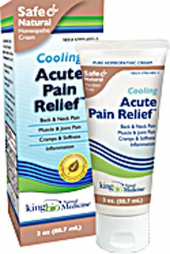 Dr. King's Natural Medicine  Acute Pain Relief Topical Perspective: front