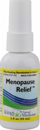 Dr. King's Menopause Relief Natural Medicine Perspective: front
