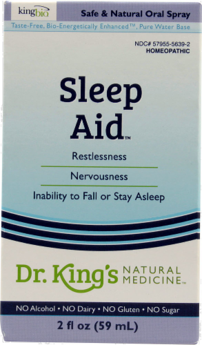 King Bio Sleep Aid Natural Medicine Perspective: front
