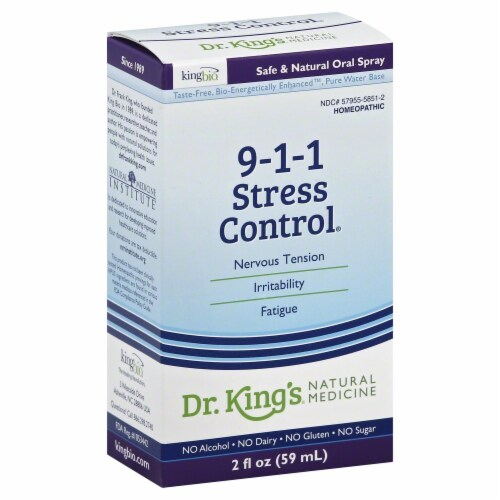 Dr. King's 9-1-1 Stress Control Perspective: front