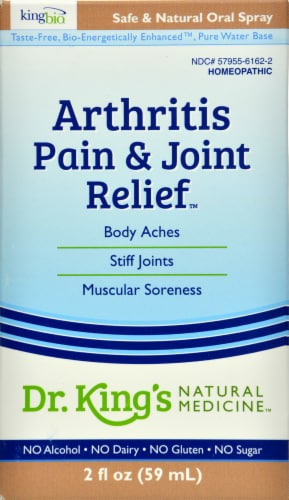 Dr. King's Arthritis Pain & Joint Relief Perspective: front