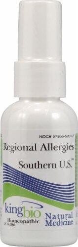 Dr. King's Regional Allergies Southern U.S. Natural Medicine Spray Perspective: front