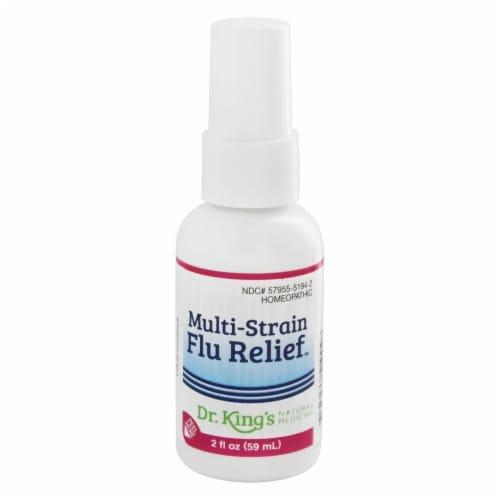 Dr. King's Natural Medicine Multi-Strain Flu Relief Perspective: front