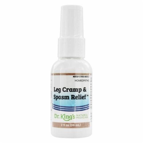 Dr. King's Leg Cramp & Spasm Relief Natural Medicine Spray Perspective: front