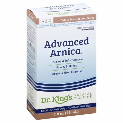Dr. King's Advanced Arnica Perspective: front