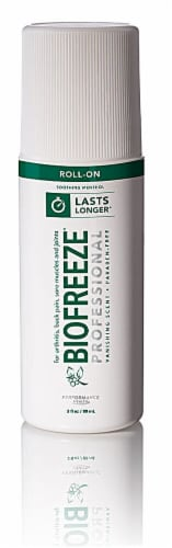 Biofreeze Cold Therapy Pain Relief Roll On Perspective: front