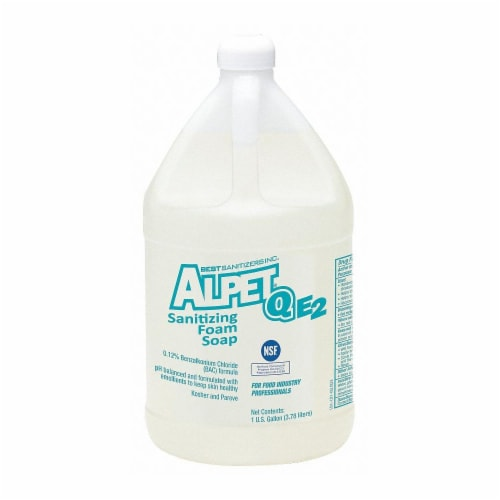 Best Sanitizers, Inc. Foam Hand Soap,1 gal.,Unscented,PK4 Perspective: front