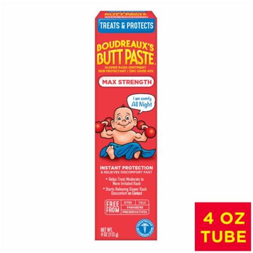 Boudreaux's Maximum Strength Butt Paste Diaper Rash Ointment Perspective: front