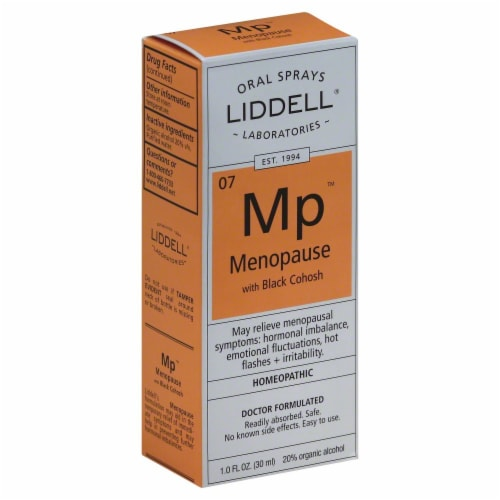 Liddell Laboratories Menopause Oral Spray Perspective: front