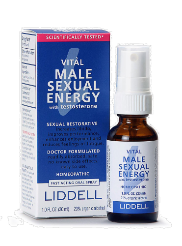 Liddel Laboratories Vital Male Sexual Energy Spray Perspective: front