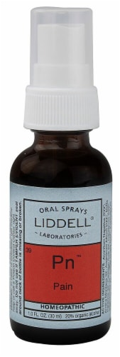 Liddell  Pain Homeopathic Spray Perspective: front